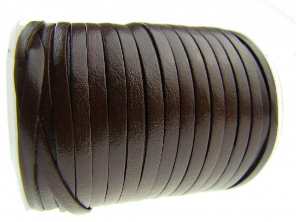 Lederband Flach 3 x 1 mm - Braun